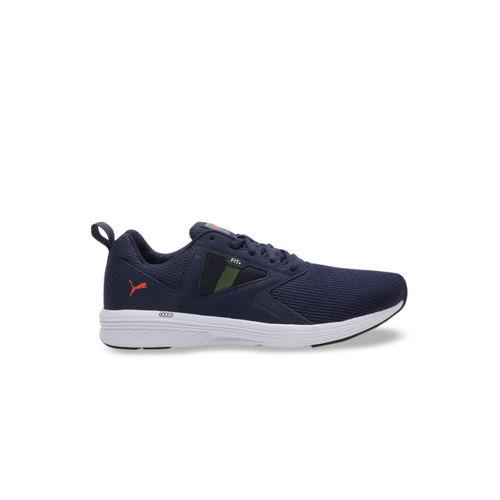 Puma Unisex Navy Blue NRGY Asteroid Running Shoes