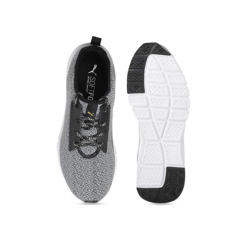 Puma Women Grey Mesh Flexracer HM NU Running Shoes