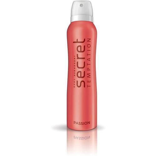 Secret Temptation Passion Pack of 1 Deodorant Spray - For Women(150 ml)