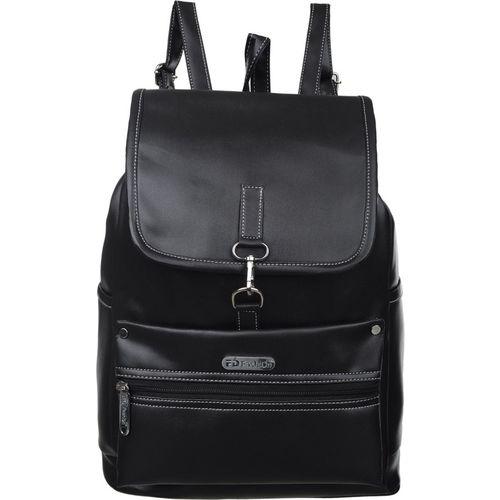 FD Fashion Women college Backpack,trendy Backpack,Billine Backpack for girls 15 L Backpack(Black)
