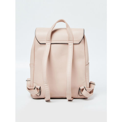CODE by Lifestyle Women Pink Solid Backpack