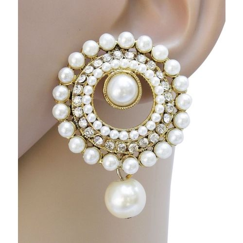 Styylo Fashion Bollywood Style Zircon Alloy Drops & Danglers