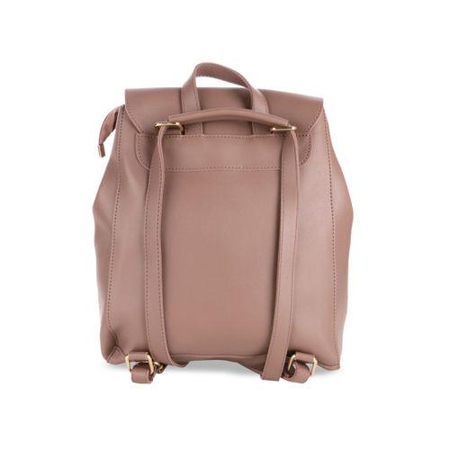 Satchel Bags Women Brown Solid Backpack