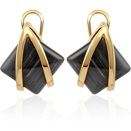Nakabh Fashion Jewellery Partywear Copper Stud Earring, Clip-on Earring