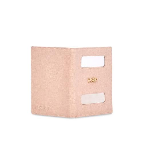 Eske Men skin -Coloured Solid Leather Passport Holder