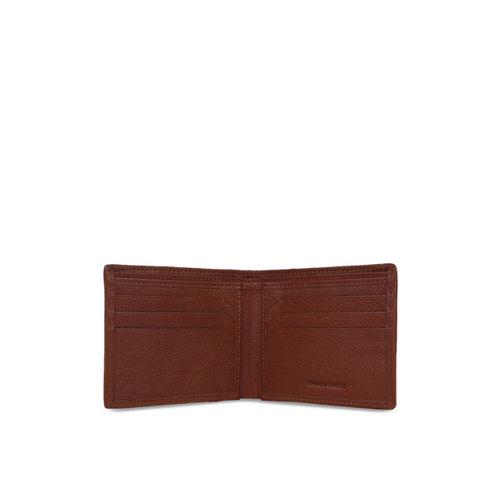 Paradigm Design Lab Men Brown Self Design Two Fold Wallet