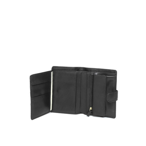 Hidesign Men Black Solid Two Fold Wallet