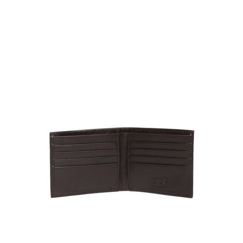 Levis Men Brown Solid Two Fold Genuine Leather Wallet