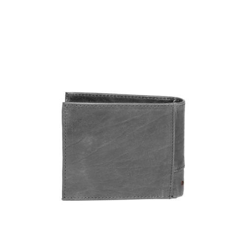 Tommy Hilfiger Men Navy Blue Solid Two Fold Wallet