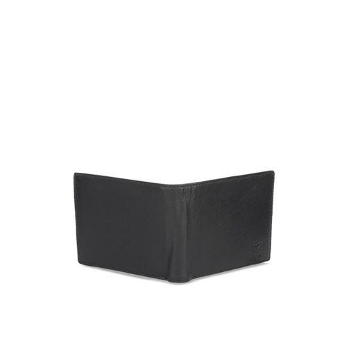 STYLER KING Men Black Solid Two Fold Wallet
