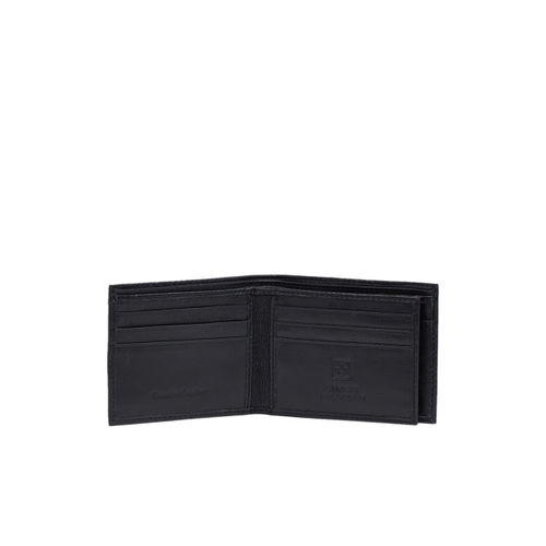 SWISS MILITARY Men Black Solid Two Fold Wallet