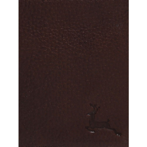 Parx Men Brown Solid Two Fold Wallet