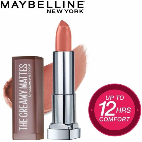 Maybelline New York Color Sensational Creamy Matte Lipstick, 656 Clay Crush, 3.9g(Clay Crush, 3.9 g)