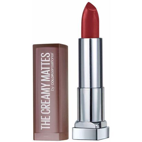 Maybelline New York Color Sensational Creamy Matte Lipstick, 691 Rich Ruby, 3.9g(Red, 3.9 g)