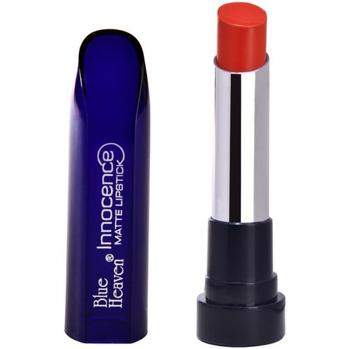 Blue Heaven Innocence Matte Lipstick 07 (4 GM)(Orange, 4 g)