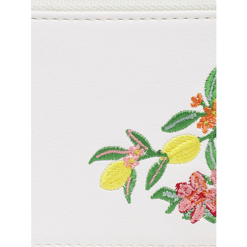 Accessorize Women White Solid Card Holder