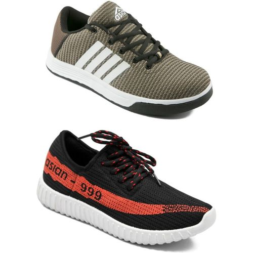 Asian Walking Shoes,Gym Shoes,loafers,Training Shoes,Casual Shoes Training & Gym Shoes For Men(Red, Black, Beige)