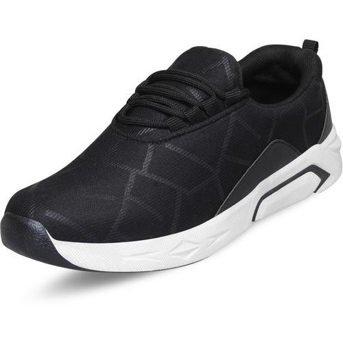 BADLAV 70103-Black Walking Shoes For Men(Black)