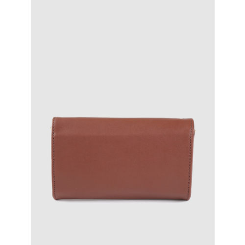 Caprese Brown Solid Purse