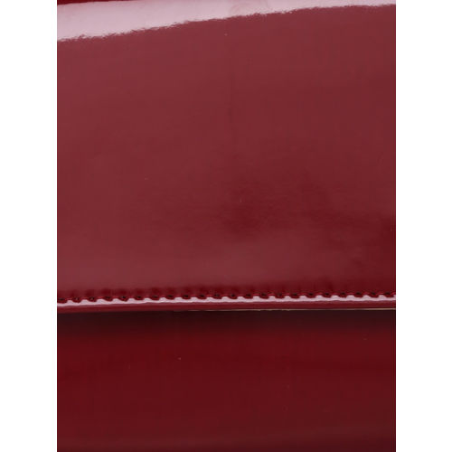 Inc 5 Maroon Solid Clutch