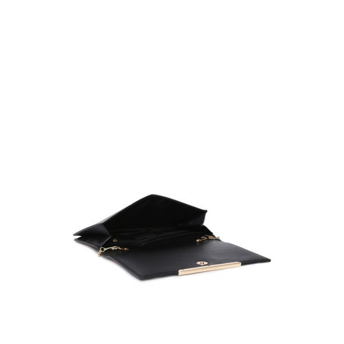 Inc 5 Black Printed Clutch