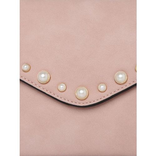 Inc 5 Pink Embellished Clutch