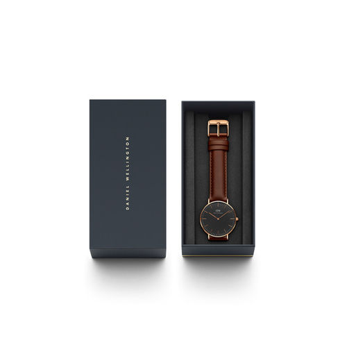 Daniel Wellington Classic St Mawes Black Analogue Watch DW00100136