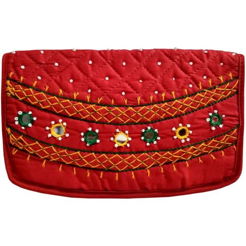 Belladona Party Red Clutch