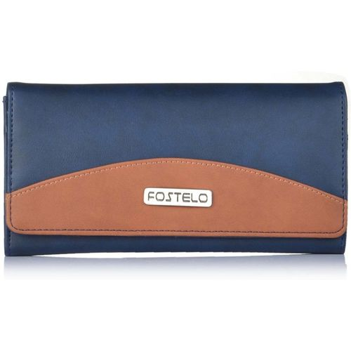 Fostelo Casual Blue Clutch
