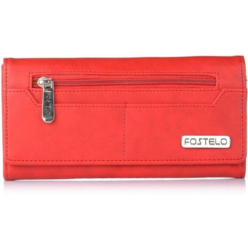 Fostelo Casual Red Clutch