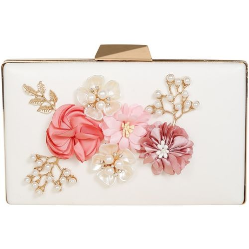 CHHAVIS Party, Casual White Clutch