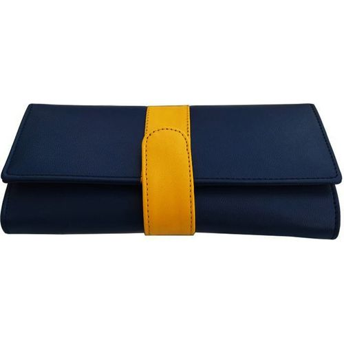 Yours Luggage Casual Blue Clutch