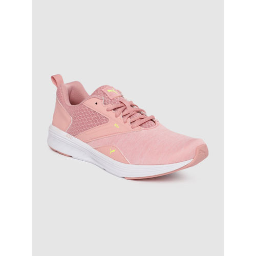 Puma Unisex Pink NRGY Comet Training or Gym Shoes