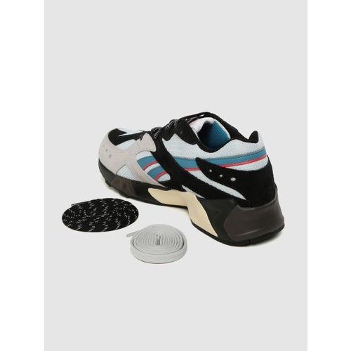 Reebok Classic Unisex Grey & Black Colourblocked Aztrek X Mita Sneakers X Bal