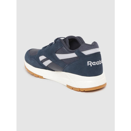 Reebok Classic Unisex Navy Perforated Bolton Essential MU Sneakers