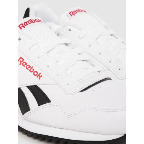 Reebok Classic Men White Royal Glide Sneakers