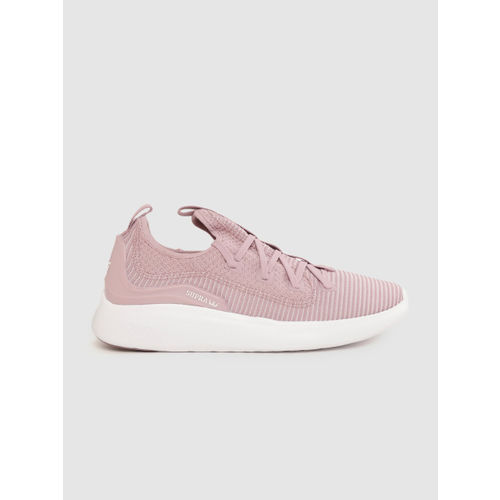 Supra Men Pink & Off-White Factor Striped Sneakers
