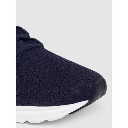 Puma Men Navy Blue Enzo Sport Mid-Top Running Shoes