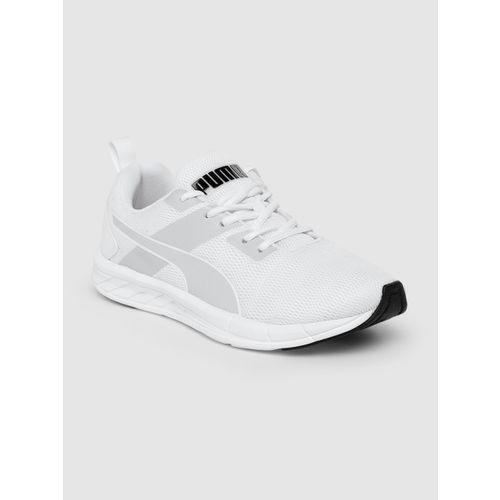 Puma Men White Meteor Nu Idp Running Shoes