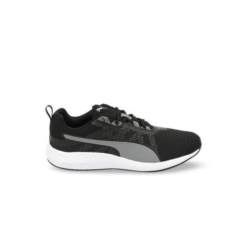 Puma Men Black Mesh Running Shoes