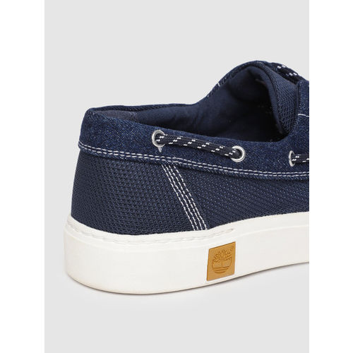 Timberland Women Blue AMHERST Boat Shoes