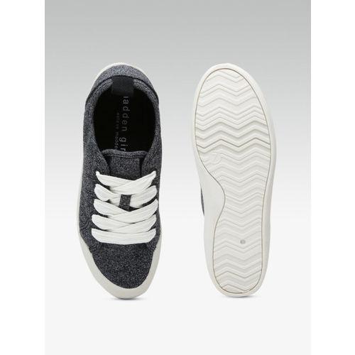 Steve Madden Women Charcoal Grey Sneakers
