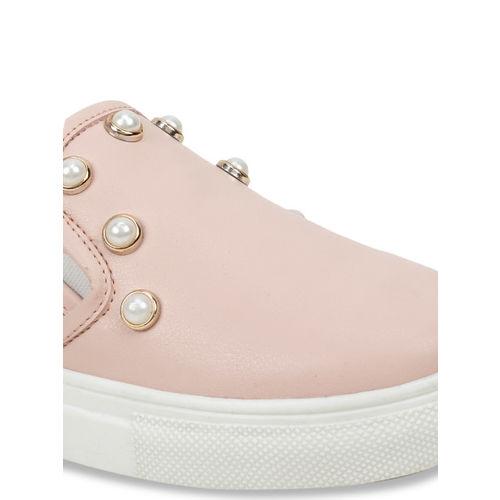 SCENTRA Women Pink Slip-On Sneakers