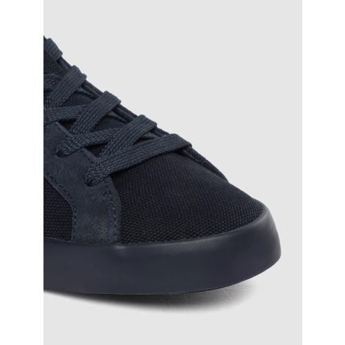 hummel Unisex Navy Blue CROSS COURT Sneakers