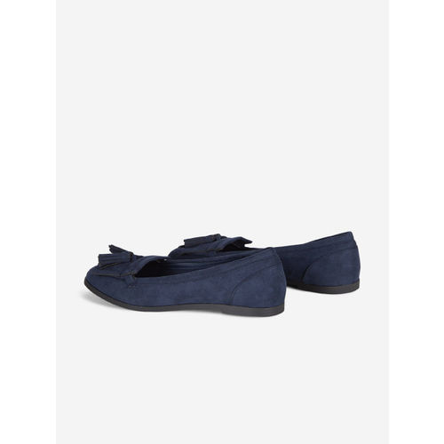 DOROTHY PERKINS Women Navy Tassel Loafers