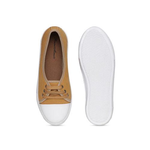 Bruno Manetti Women Beige Sneakers
