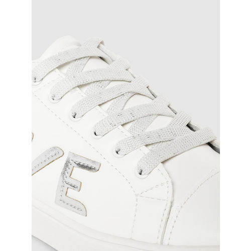 CERIZ Women White Sneakers