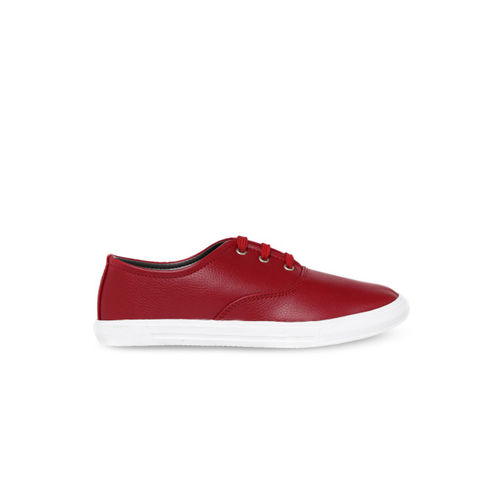 Bruno Manetti Women Red Sneakers