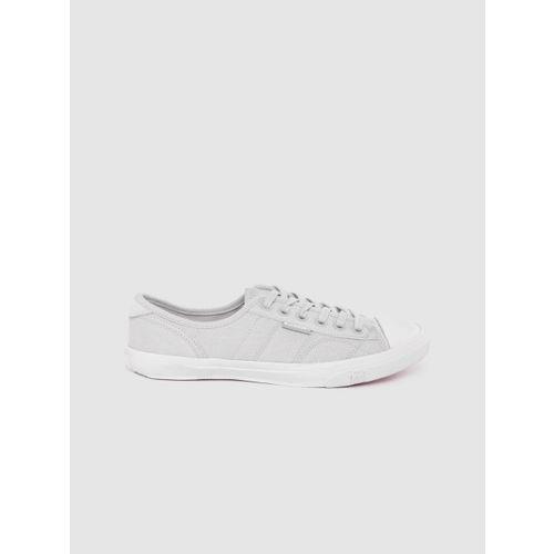 Superdry Women Grey Solid Sneakers