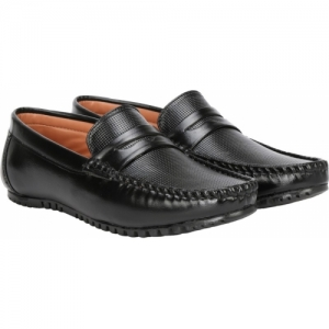 Kraasa Loafers For Men(Black)